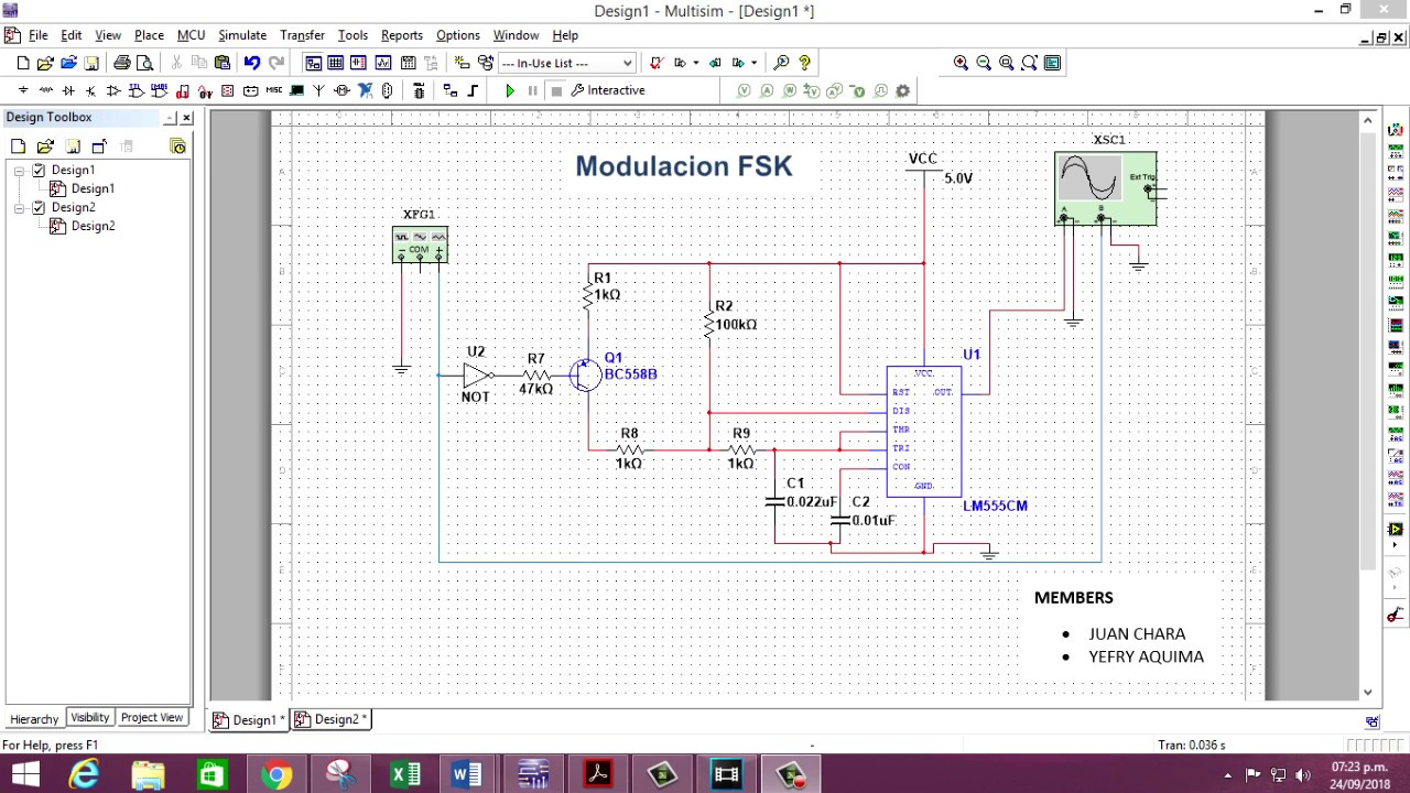 FSK MODULATION - CIRCUIT ELECTRONIC
