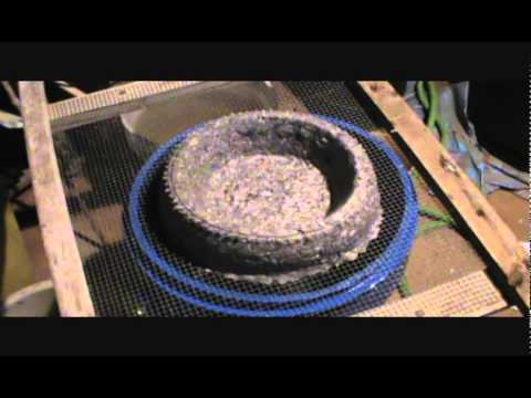 Making Pigeon Nest Bowls Paper Pulp Part 1 WWW