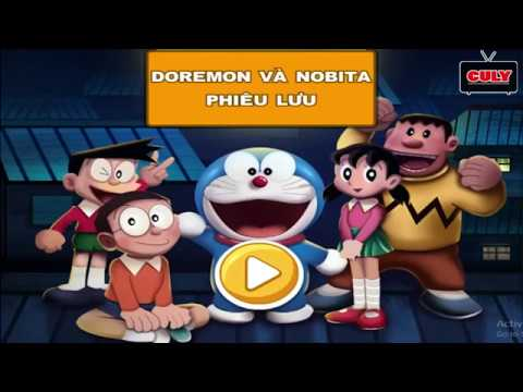 Trò chơi Nobita và Doremon phiêu lưu   cu lỳ chơi game