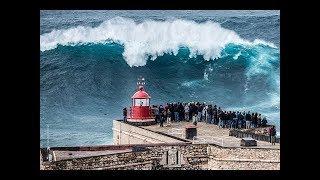 Самые большие волны в мире: Назаре Португалия c Владимиром Волошиным