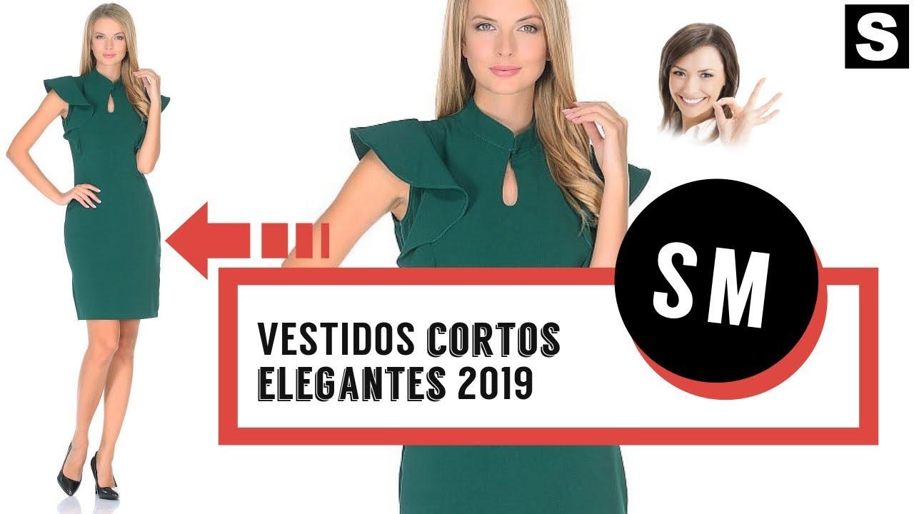 Tendencia de vestidos cortos 2019