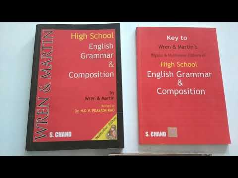 BEST ENGLISH GRAMMAR AND COMPOSITION BOOK FOR SELF STUDY