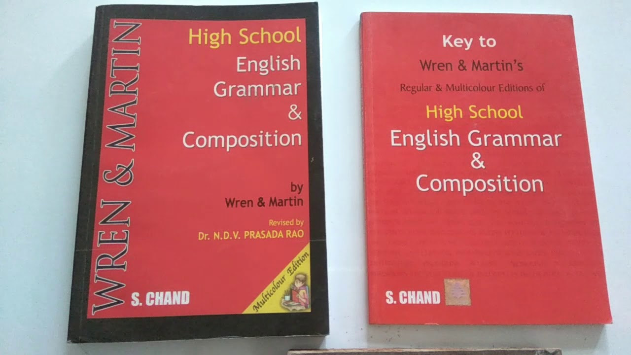 Wren And Martin Grammar Book Key Pdf