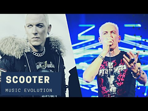 SCOOTER BAND MUSIC EVOLUTION (1994 - 2019)