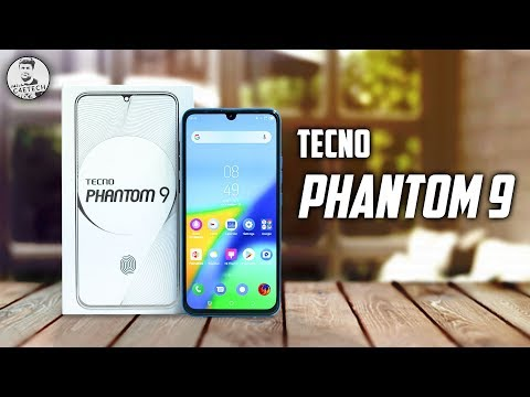 The Tecno Phantom 9 has Very Unique Features - Unboxing & Hands On!