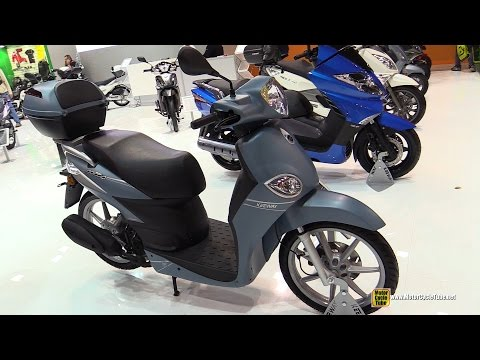 2015 Keeway Goccia 50 Scooter - Walkaround - 2014 EICMA Milan Motorcycle Exhibition