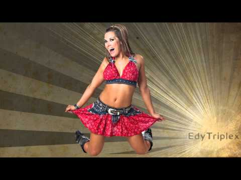 """2010-2011:Mickie James Theme Song """"Hardcore Country"""" [HD/HQ]"""