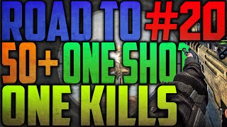 GEOWNED DOOR FANS! - Road to 50 One Shot, One Kills #20 (COD: Black Ops 2)