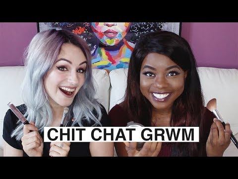 CHIT CHAT GRWM W SHANTI | MANAGING MENTAL HEALTH ABROAD, HATERS AND ONLINE APPEARANCES