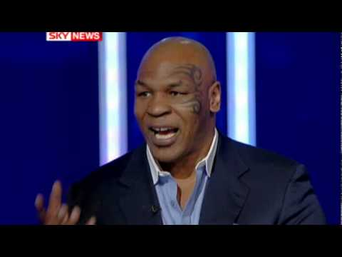 Mike Tyson got angry at the interviewer