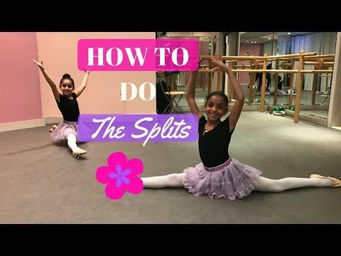 7 Easy Steps to do THE SPLITS for beginners   سبع حركات أساسية لفتح الحوض