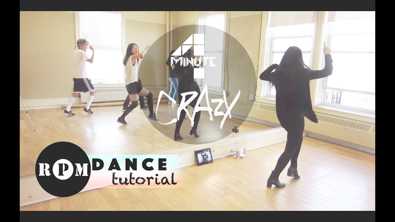 "Download 4Minute ""Crazy"" Dance Tutorial (Chorus)"