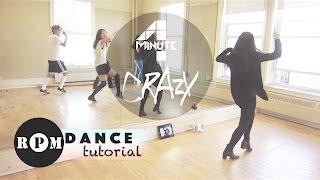 "4Minute ""Crazy"" Dance Tutorial (Chorus)"