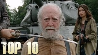 The Walking Dead Top 10 Greatest Moments!