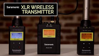 REVIEW - SARAMONIC XLR Wireless Mic Adapter Plus Recorder Tips!