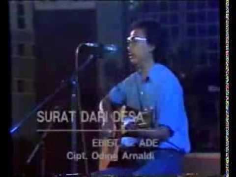 Ebiet G  Ade   Finalis Lomba Cipta Lagu Pembangunan Tk Nasional 1987