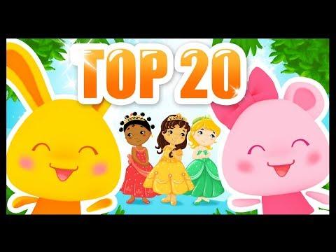 Top 20 des comptines et chansons pour enfants et bébés 2018 - Titounis
