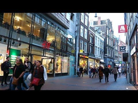 Amsterdam shopping streets