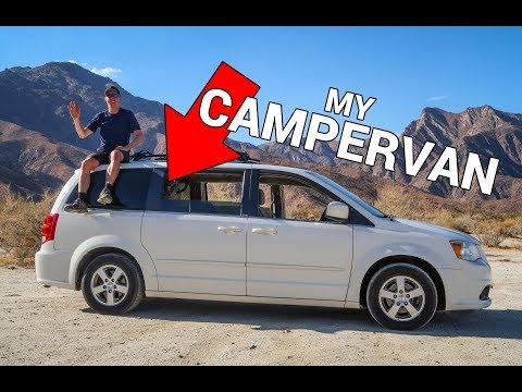 Turn Your Minivan Into A Campervan - My Dodge Caravan with Solar Power