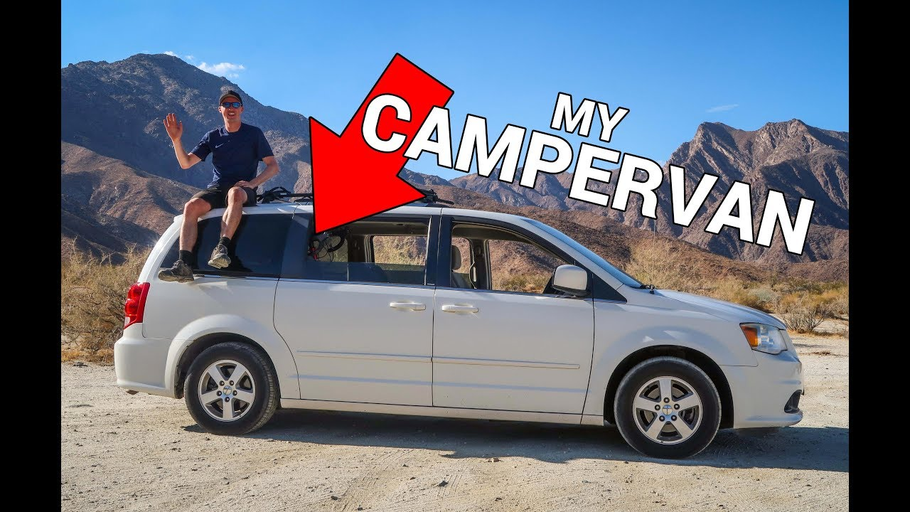 5d9812bfdd Turn Your Minivan Into A Campervan - My Dodge Caravan with Solar ...