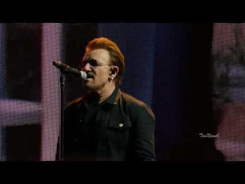 U2 Red Hill Mining Town , 4K, HQ Audio  Cleveland  July 1st, 2017