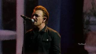 """U2 """"Red Hill Mining Town"""" (Live, 4K, HQ Audio) / Cleveland / July 1st, 2017"""