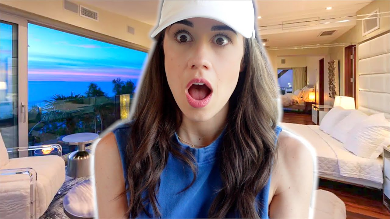 TOUR OF OUR MALIBU MANSION!