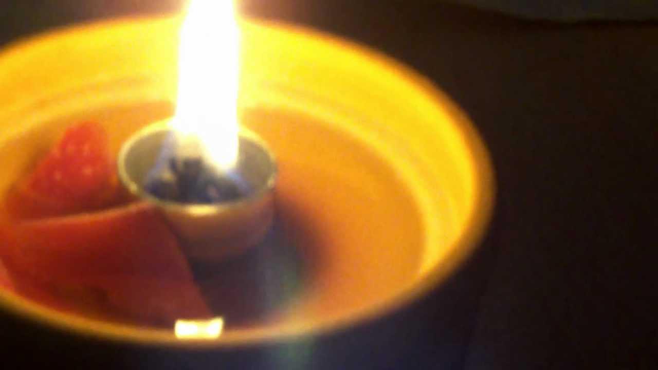 Yankee Candle! Wachsreste ins Schmelzfeuer geben! - YouTube