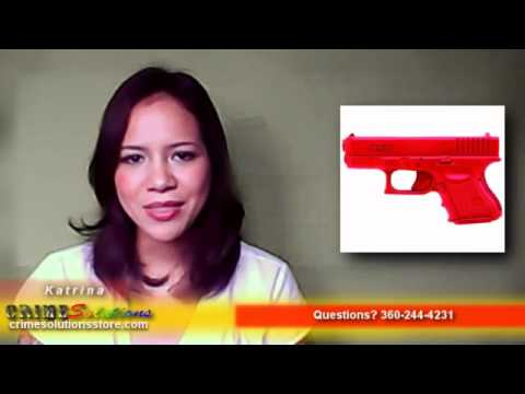 ASP Patended Solid Silicone Made Red Training Gun Glock 9mm/40 Sub, Lightweight Replica Review