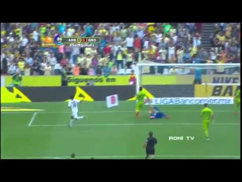 Golas Ronaldinho vs Club America