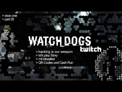 Let's Play WATCH DOGS #05 || QR Code und Cash Run || HD