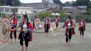 平成二十六年 石巻川開き 鳥取環境大 因幡の傘踊りデモ