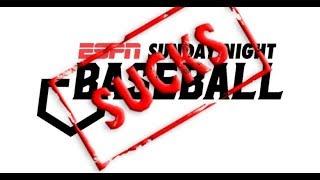 Sunday Night Baseball Sucks