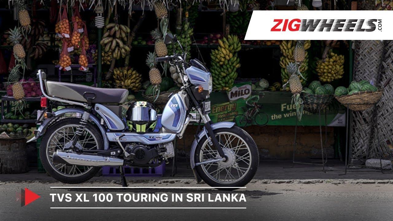 Tvs Xl100 Comfort Touring In Sri Lanka 700 Km Road Trip