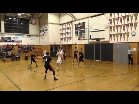 (Varsity Boys Basketball) California School for the Deaf vs. Mendocino High School - Full Game