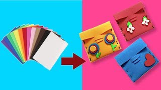DIY : How to Make Coin Purse with in 2 Minutes