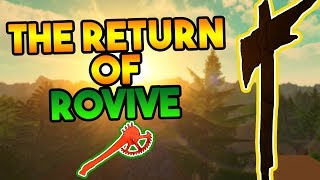 THE RETURN OF ROVIVE! (RUST ON ROBLOX?!)