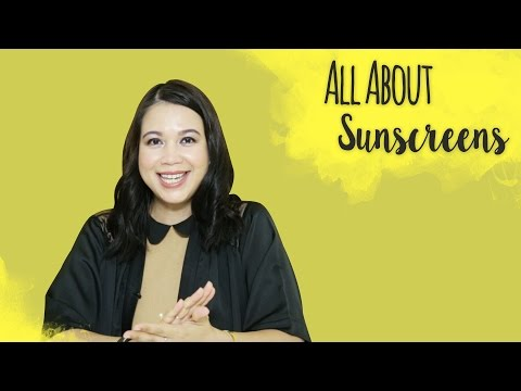 Recommended Sunscreens   Skincare 101