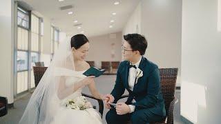 뉴욕 웨딩 영상 ㅣ New York Wedding Videography l 뉴욕장로교회 결혼 예배