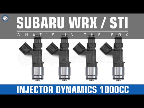 Injector Dynamics 1000cc Top Feed Injectors - Whats In The Box?
