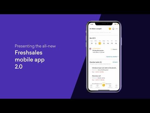 The Freshsales Mobile App