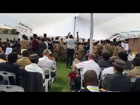 Nkosi busis'i Afrika (Prayer for Africa) - Southern Africa Region Music Camp 2017