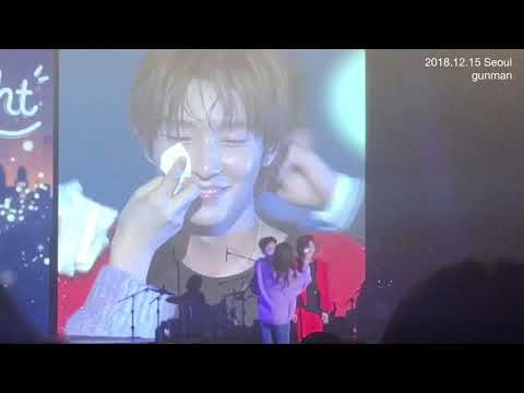 Lee Joon Gi Freshens Up During Delight Fan Concerts