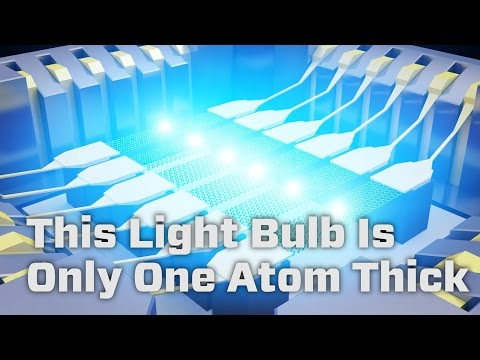 This Light Bulb Is Only One Atom Thick