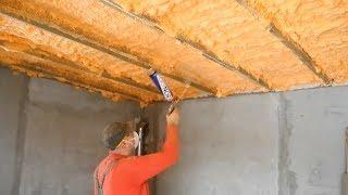 Как надежно утеплить потолок и крышу! Точка росы