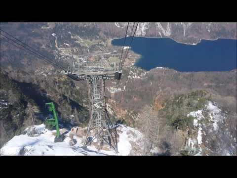 Vogel Cable Car at Lake Bohinj, Slovenia