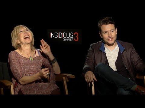 Lin Shaye & Leigh Whannell Talk Insidious Chapter 3