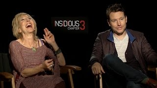 Lin Shaye & Leigh Whannell Talk Insidious Chapter 3