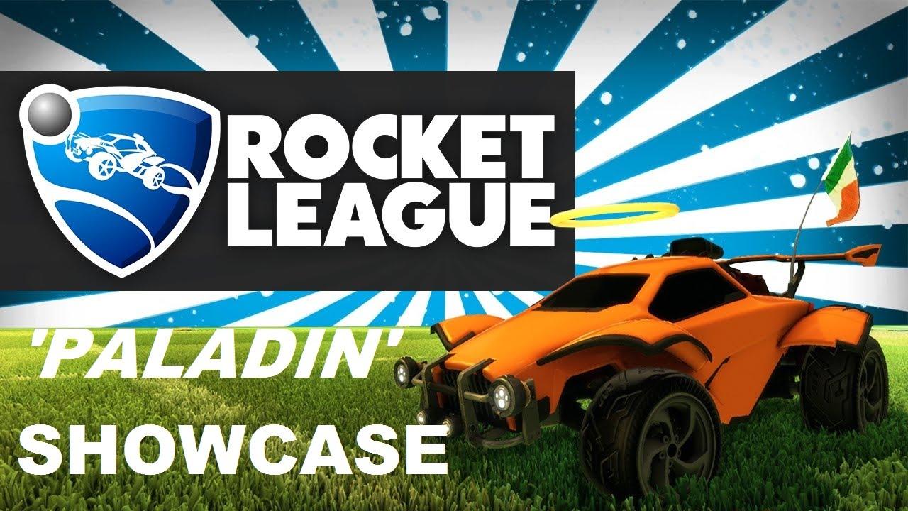 Rocket League: My garage 'PALADIN' showcase. - YouTube