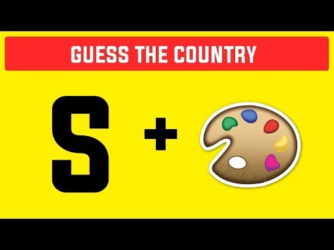 Bet You Cant Guess The Country By Emoji !! Emoji Challenge